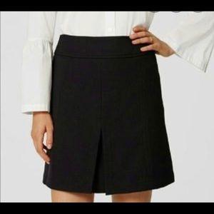 LOFT front pleat casual & elegant skirt